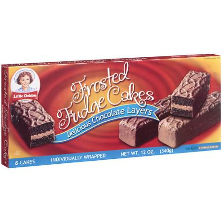 Little Debbie Snacks Frosted Fudge Cakes 8ct