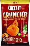 CHEEZ-IT CHEESE PUFF HOT & SPICY SS BAG SNACK 1 oz