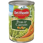 DEL MONTE FRESH CUT PEAS & CARROTS 15 OZ
