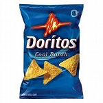 Doritos Cool Ranch 3.375 oz. Bag