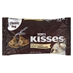 Hershey's: Milk Chocolate Candies Kisses w/Almonds, 11 Oz
