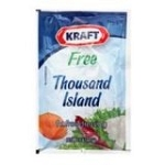 Kraft Thousand Island Dressing, Fat Free, 1.5-Ounce Pouches