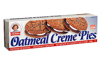 ... & Cakes > Little Debbie: Oatmeal Creme Pies 12 Ct Snacks, 16.2 Oz