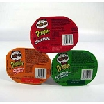 Pack of 6/.74 oz  Pringles, Original, Cheddar Cheese, Sour Cream & Onion