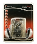 Sentry Clear Stereo Cassette Player w/ Headphone