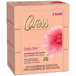 Caress Bar Soap - Daily Silk- 3 Ct