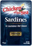 Chicken of the Sea Sardines in Hot Sauce 3.53 oz