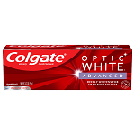 Colgate Optic White Advanced Teeth Whitening Toothpaste, Sparkling White, 3.2 Oz