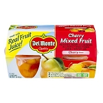 Del Monte Cherry Mixed Fruit - 4 CT 16 oz