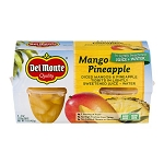 Del Monte Mango Pineapple Cups - 4 CT 16 oz
