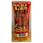 Double Barrell Spicy Hot Shots Meat Snacks 2 oz