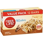 Fiber One 90 Calorie Bar Cinnamon Coffee Cake Value Pack 12 -Bars 12 oz