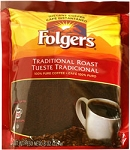 Folgers Traditional Roast Instant Coffee 8 oz.