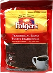 Folgers Traditional Roast Instant Coffee 4 oz.