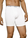 Fruit of the Loom Men's  Classic White Boxer Briefs (5 PACK)