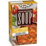 Good Natured Hearty Tomato with Spinach and Roasted Garlic Soup, 17 oz (VEGAN)