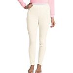 Hanes Women's X-Temp Thermal Underwear Pant (White)