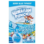 Hawaiian Punch Drink Mix, Berry Blue Typhoon, .92 Oz, 8 Packets