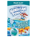 Hawaiian Punch Singles To Go! Polar Blast Drink Mix, 8 pack, .76 oz