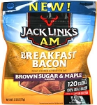 Jack Links A.M. Breakfast Bacon - Brown Sugar & Maple 3 oz.