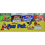 Kellogg's Cereals Variety Fun Pak - 8 ct 8.56 oz.