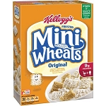 Kellogg's Frosted Mini-Wheats Bite Size Cereal, 18 oz