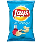 Lay's Salt & Vinegar Potato Chips, 6.5 oz