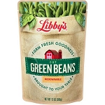 Libby's Cut Green Beans, POUCH 13 oz