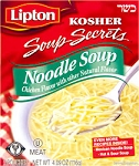 Lipton Secrets Kosher Chicken Noodle Soup 5 oz.