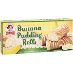 Little Debbie Snacks Banana Pudding Rolls, 6ct 13.12 oz