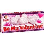 Little Debbie Snacks Be My Valentine Creme Filled White Snack Cakes, 10 ct