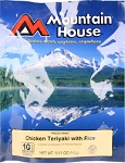 Mountain House Chicken Teriyaki with Rice Entree 6 oz