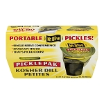 Mt. Olive Pickle Pak Kosher Dill Petites - 4 PK, 3.7 FL OZ