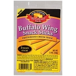 Old Fashioned Foods Buffalo Wing Cheese Snack Sticks, 3 count, 3 oz