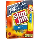 Slim Jim Mild Smoked Snack Sticks,  14 ct