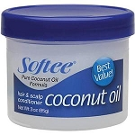 Softee Coconut Oil Hair & Scalp Conditioner 3 oz