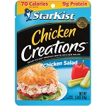 StarKist Chicken Creations Chicken Salad, 2.6 oz. Pouch
