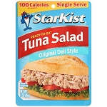 StarKist Ready-to-Eat Tuna Salad, Original Deli Style, 3 Ounce Pouch