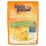 Uncle Ben's Ready Rice Garden Vegetable with Peas, Carrots & Corn, 8.8 oz