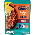UNCLE BEN'S Southern Chili Beans,  (Pouch) 9.2 oz