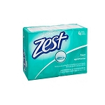 Zest Bar Soap, Aqua - 4ct