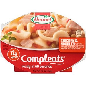 Hormel Compleats Homestyle Chicken & Noodles, 10 oz