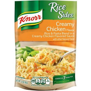 Knorr Rice Sides, Creamy Chicken Flavor, 5.7 oz