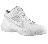 Nike Overplay VIII Basketball Mid - White