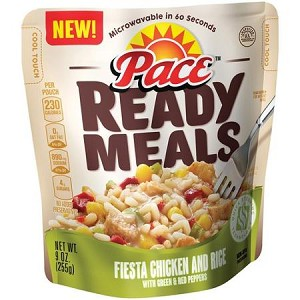 Pace Ready Meals Fiesta Chicken and Rice, 9 oz