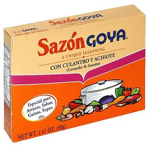 Goya Sazon Flavor Packet With Coriander & Annatto, 1.41 oz
