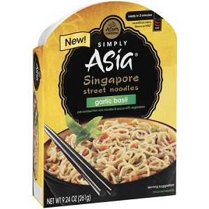 Simply Asia Garlic Basil Singapore Street Noodles, 9.24 oz