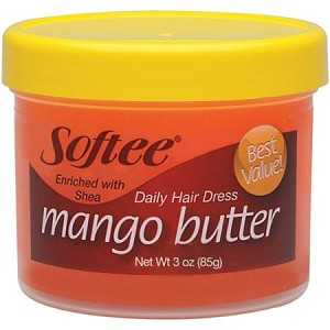 Softee Mango Butter Daily Hair Dress, 3 oz