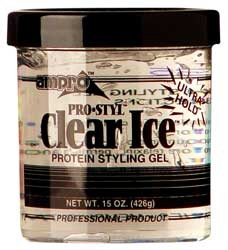 Ampro Pro styl Clear Ice Protein Styling Gel 15 oz