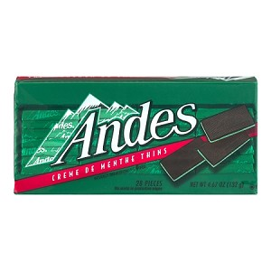 Andes Creme De Menthe Thins - 28 CT